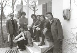 1983 Με την ομάδα των φοιτητών