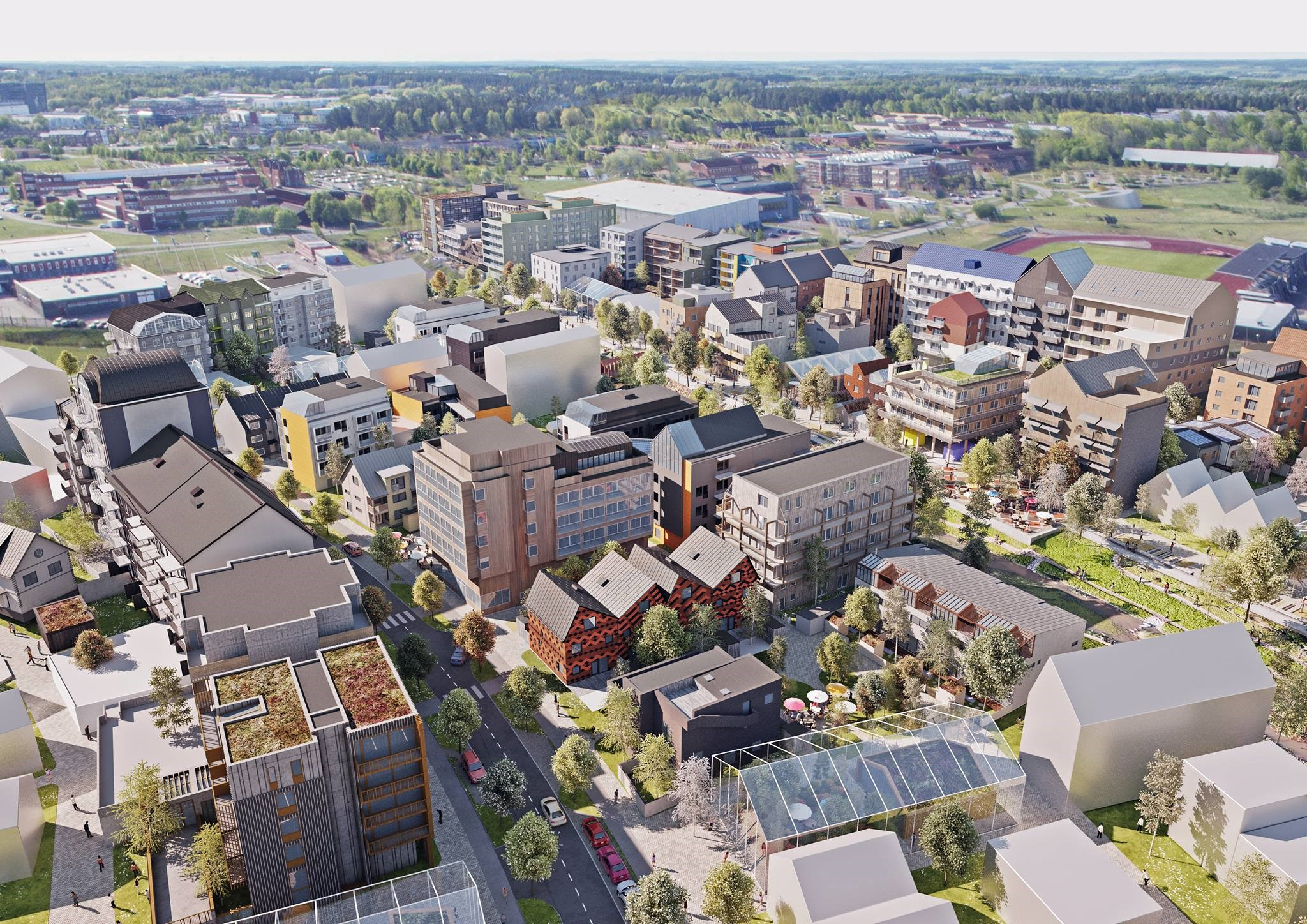 Kv. Initiativet, Linköping