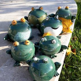 Famille grenouille