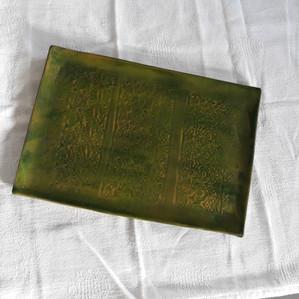 Petit plateau vert