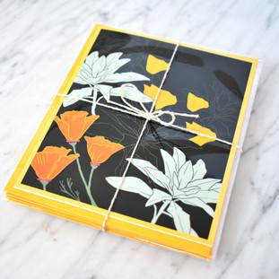 Poppies & White Sage Card Set