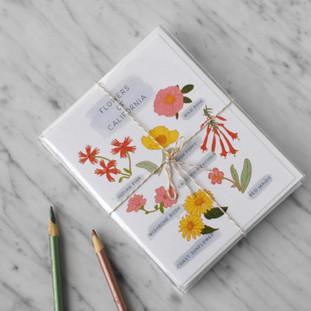 Flowers of California Card Set
