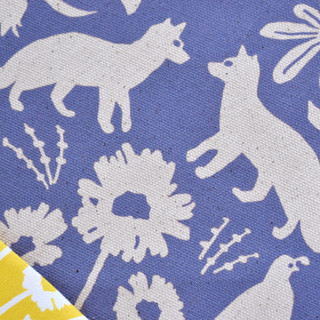 Flora and Fauna of California Fabric