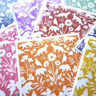 Flora and Fauna of California Card Set
