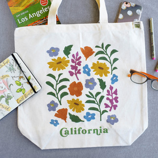 California Wildflower Tote