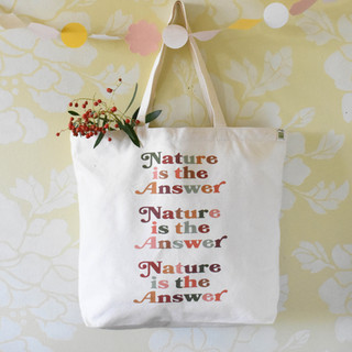 Nature is the Answer Tote