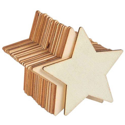 Star Wood Slices