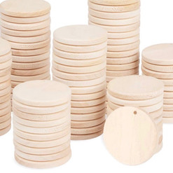 Small Wooden Discs