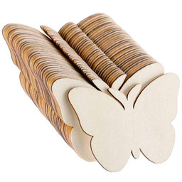 Wooden Butterfly Slices