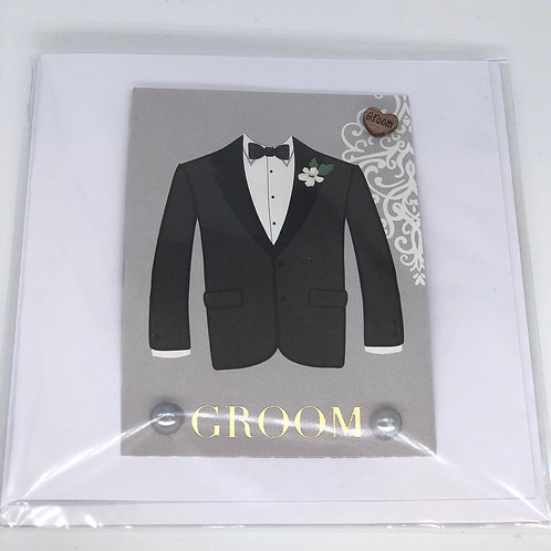 Groom Card