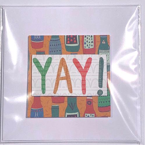 """Yay"" Card"