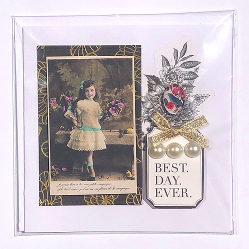 """""""Best Day Ever"""" Card"""