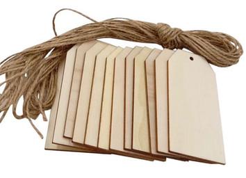 Medium Wooden Tags