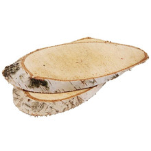 Rustic Oval Wood Slices