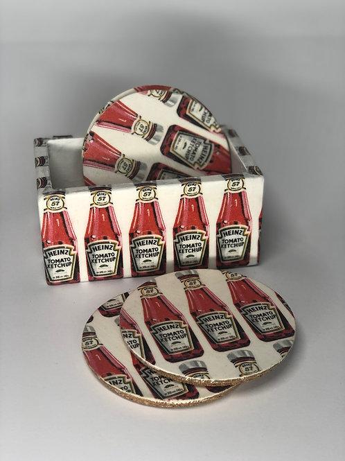 Coasters (x4) in Box