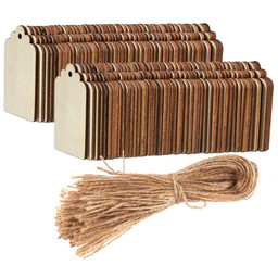Small Wooden Tags