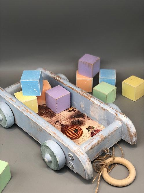 Reclaimed Wagon & Blocks
