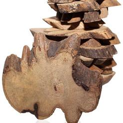 Irregular Rustic Wood Slices