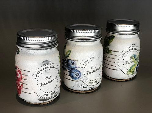 Set of Mini Jars (x3)