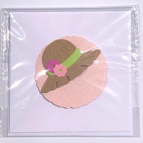 Sun hat 👒 Card