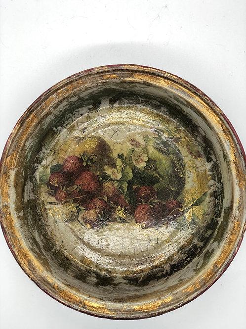 Reclaimed enamel bowl