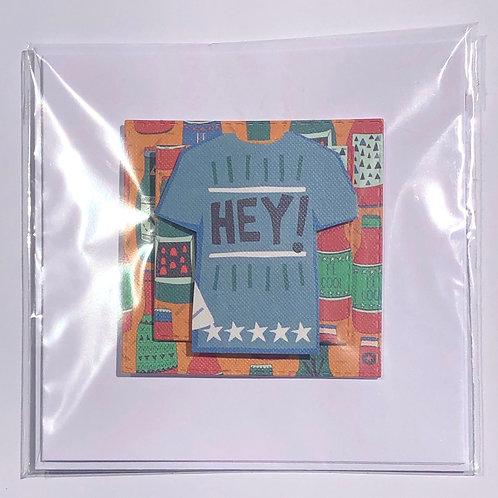 T-shirt Card