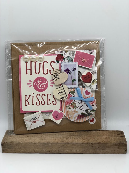"""Hugs & Kisses"" Card"