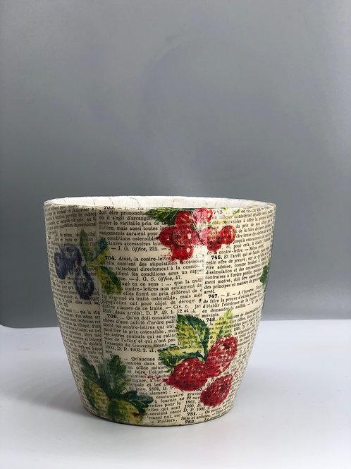 Reclaimed Plant Pot