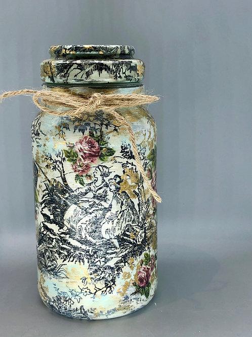 Reclaimed Glass Jar