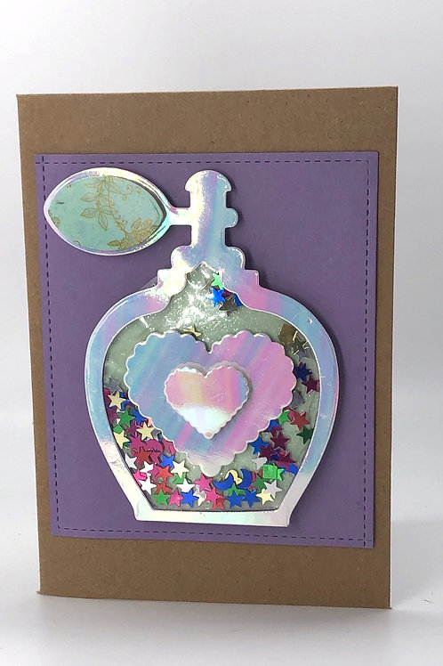 Perfume Shaker Card