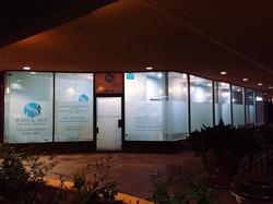 Beautiful storefront at night