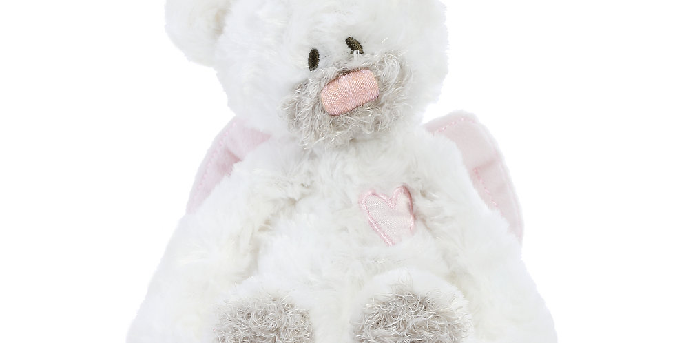 Guardian Angel Bear with Rattle