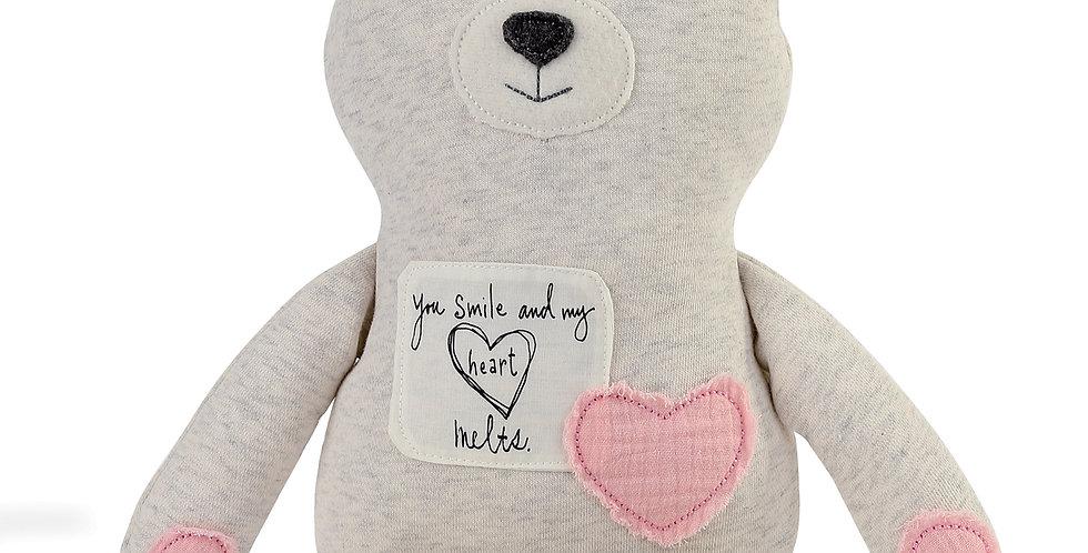Poetic Threads Stuffed Girl Bear