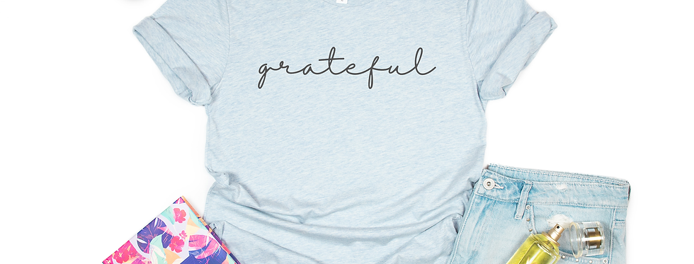 """Grateful"" Short Sleeve Tee"