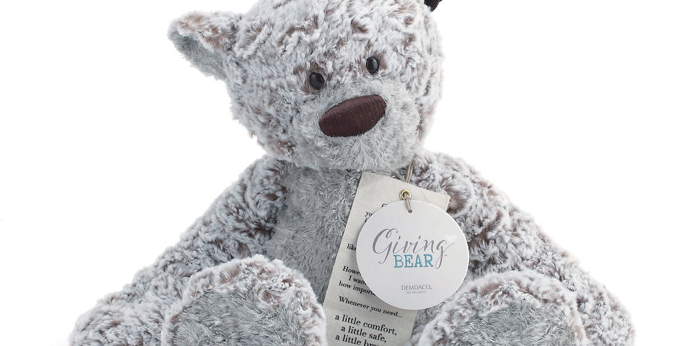 Giving Bear Plush from DEMDACO