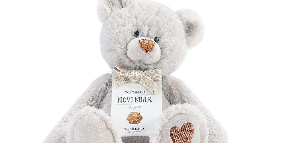 November Birthstone Bear