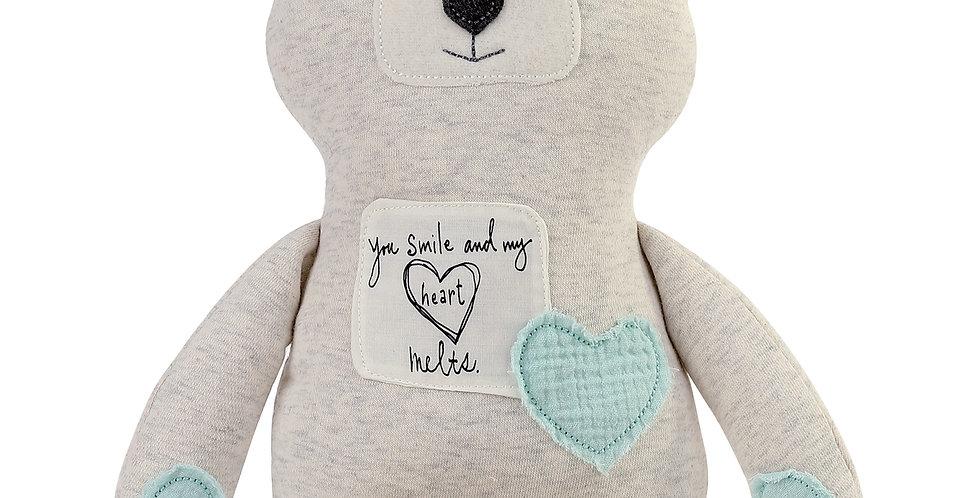 Poetic Threads Stuffed Boy Bear