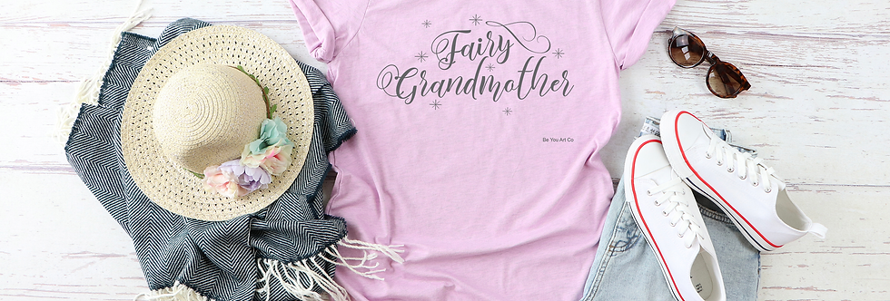 Fairy Grandmother Fuller Cut Tee Shirt