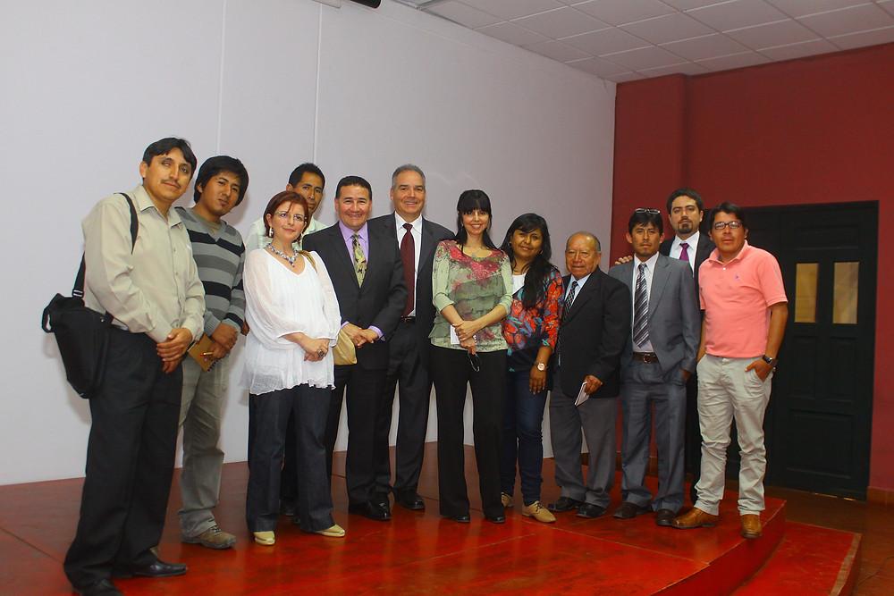 Ponentes, editores del libro e investigadores del BMAP (Foto: PERU LNG)