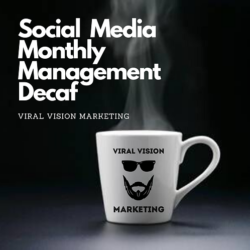 Social Media Monthly Management (Decaf)