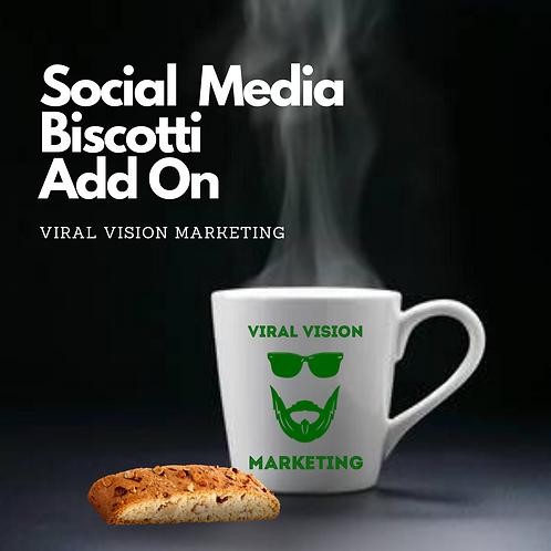 Social Media Creative Add On (Biscotti)