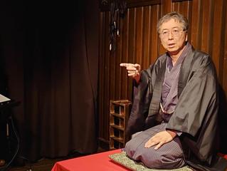 久野 武が落語を演りました。