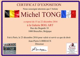 BRUXELLES MICHEL TONG