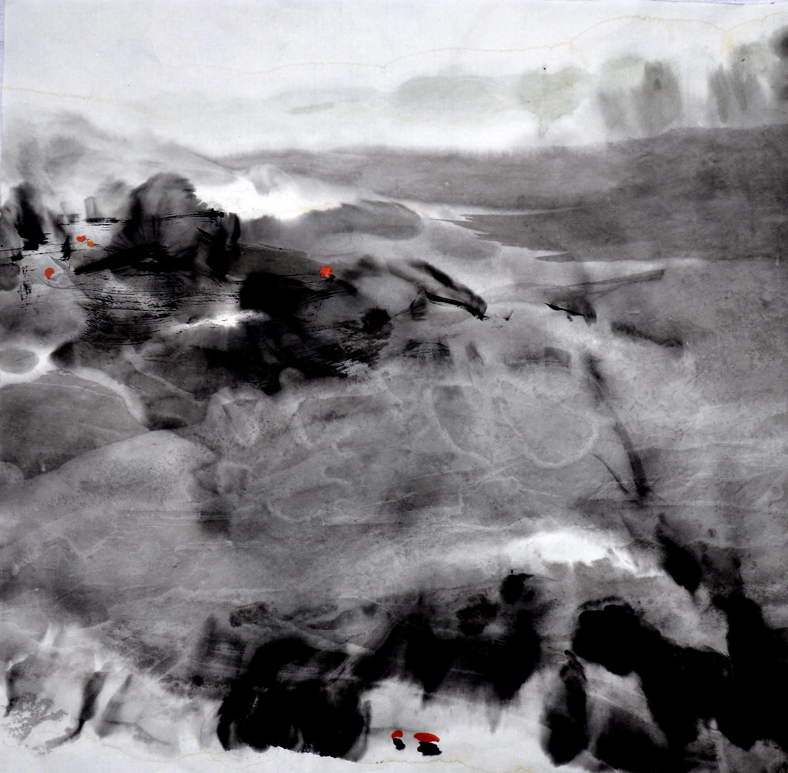 2013 山路湾湾         Chemins  sinueux de montagne      68 x 68