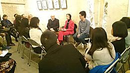 Quyng Delaunay présente ses travaux