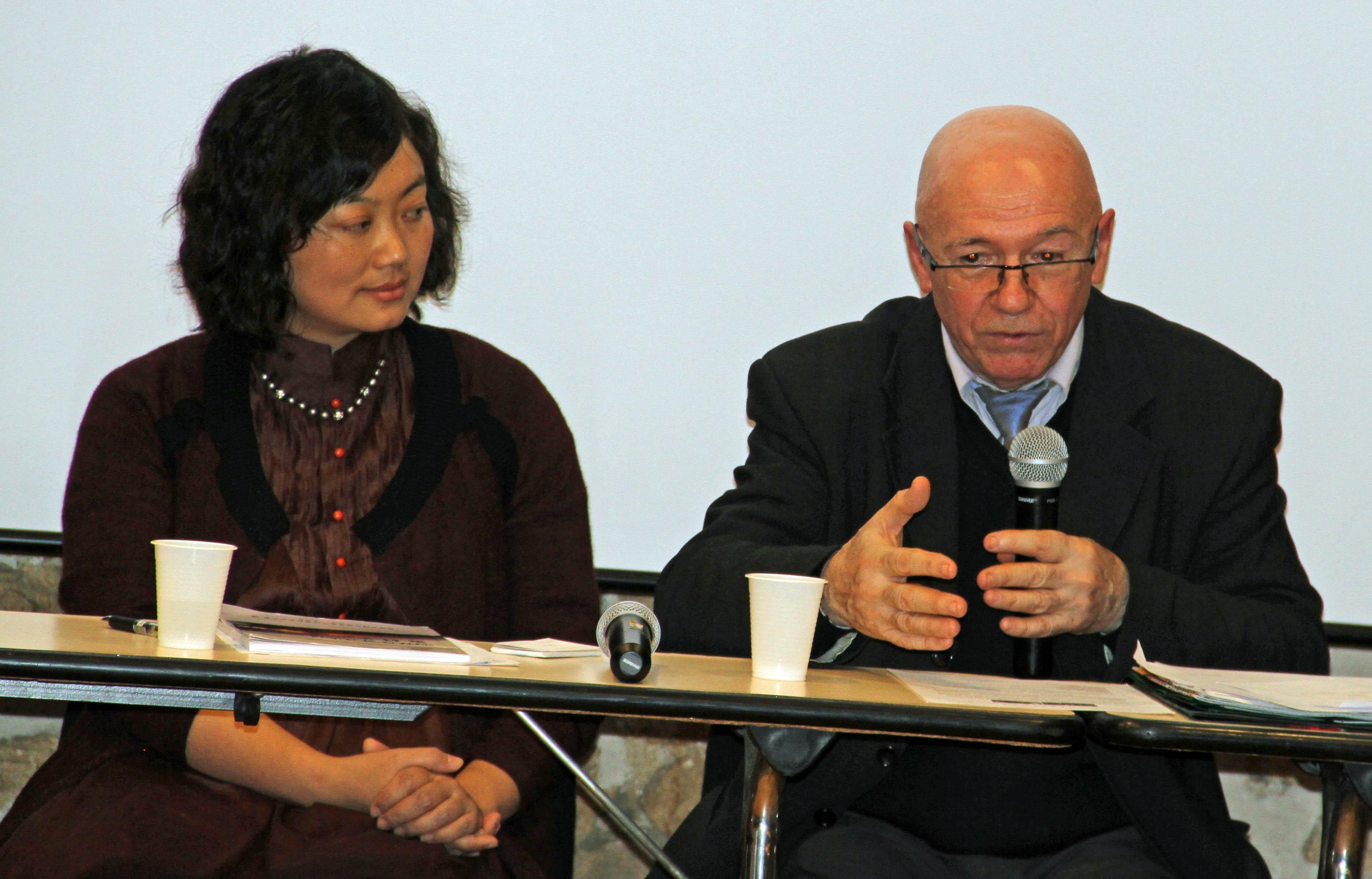 AvecMme Xi Dai  Prof. Univ Chendu