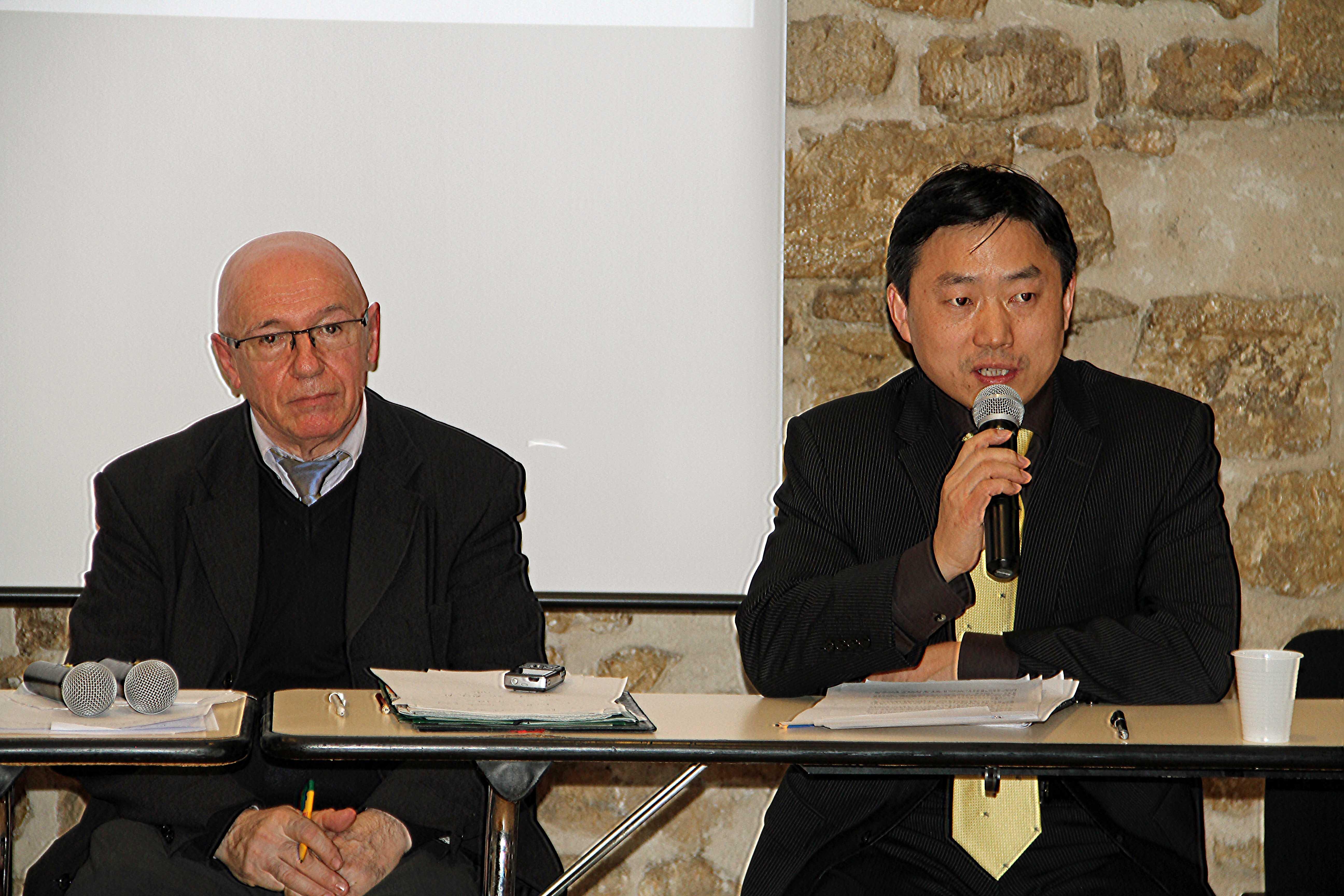 Avec Mr Wu Xiaojun Amb.de Chine