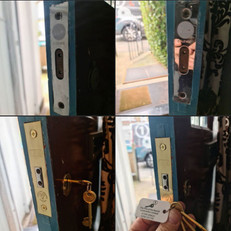 Replacement of a mortice deadlock