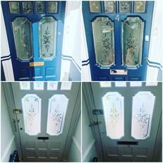 Replacement to brass door furniture