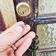 Key snapped in communal door lock, removed and cylinder tested